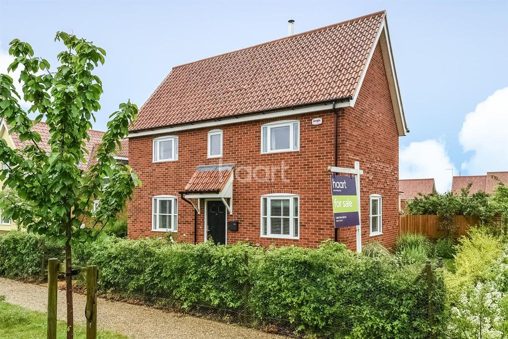 3 Bedrooms Detached House for sale in Hollesley Road, Alderton, IP12