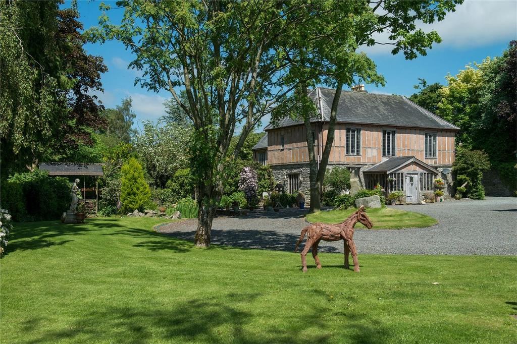 6 Bedrooms Country House Character Property for sale in Cottage Farm House, Evenjobb, Presteigne, Powys