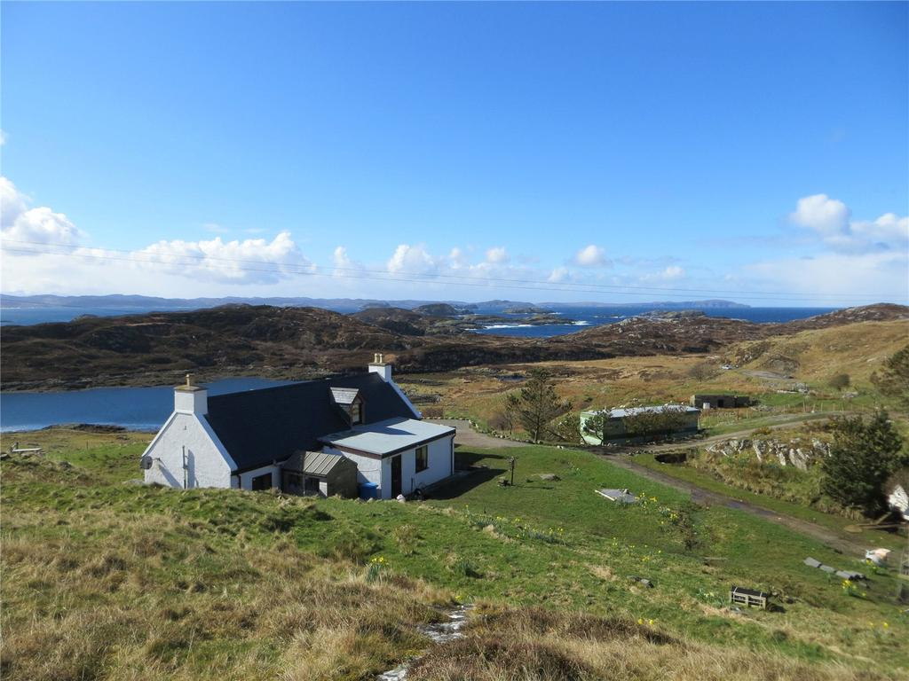 3 Bedrooms Detached House for sale in Upper Badcall, Scourie, Lairg, Sutherland