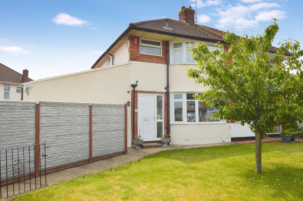 4 Bedrooms Semi Detached House for sale in Stanford Road, Round Green, Luton, LU2 0PY