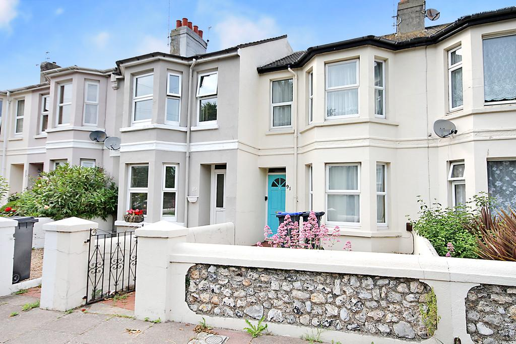 2 Bedrooms Terraced House for sale in Kingsland Road, Worthing, BN14 9EE