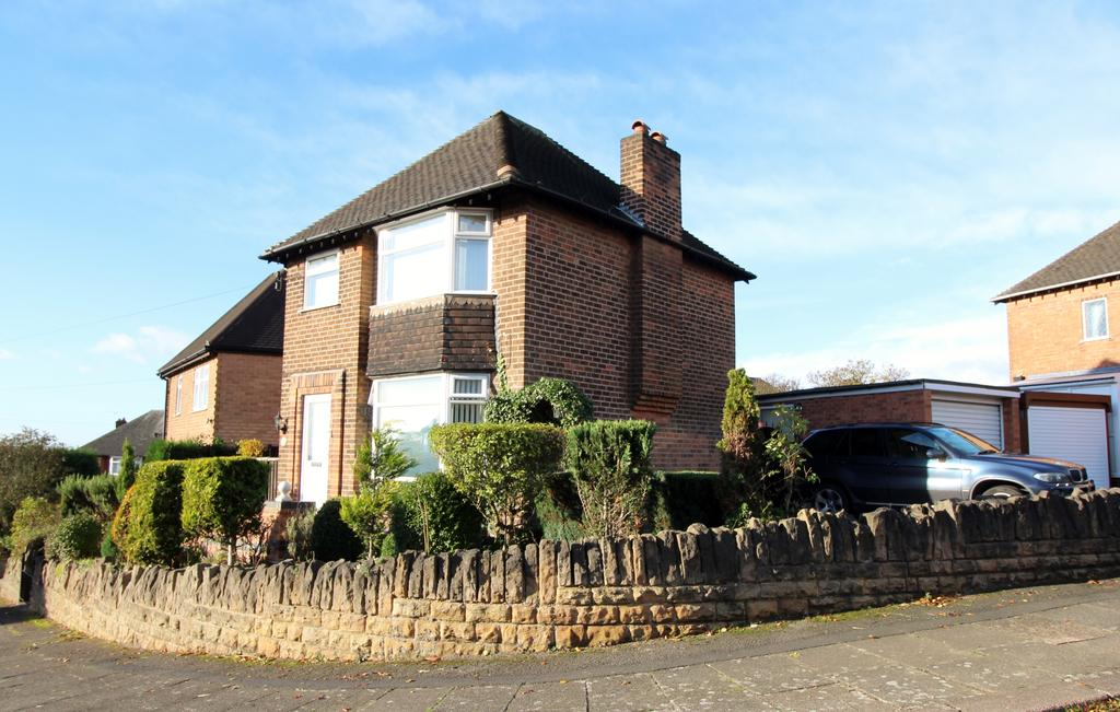 3 Bedrooms Detached House for sale in TETTENBURY ROAD, SHERWOOD, NOTTINGHAM NG5