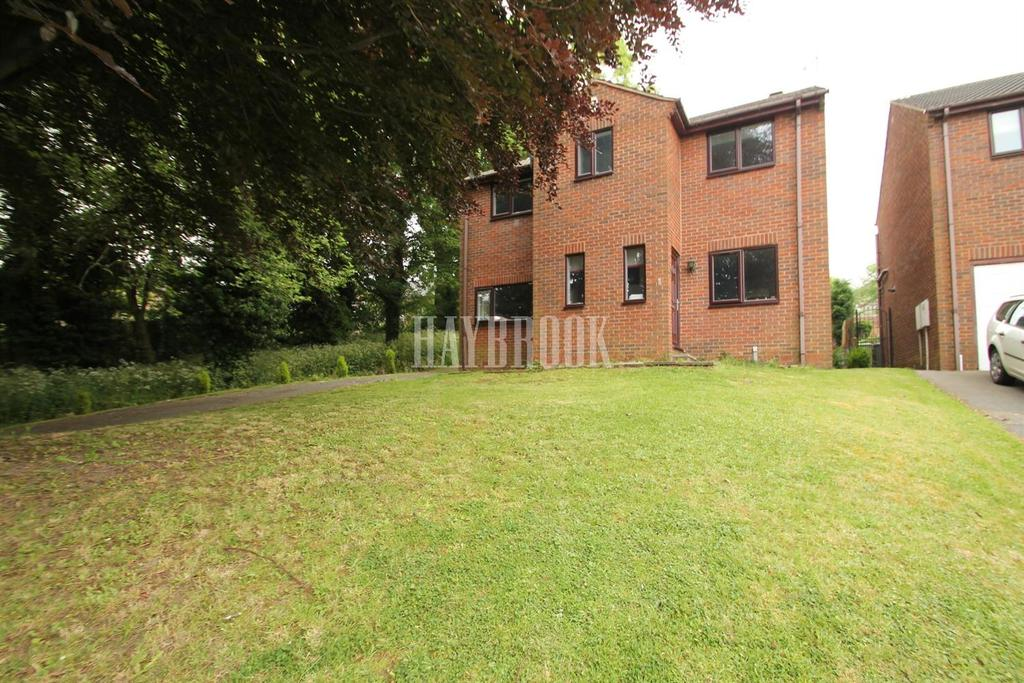 4 Bedrooms Detached House for sale in Rectory Gardens, Killamarsh