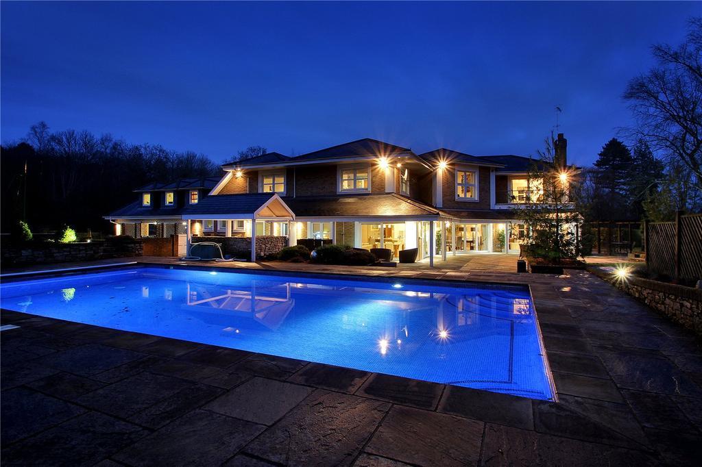 6 Bedrooms Detached House for sale in Leigh, Tonbridge, Kent