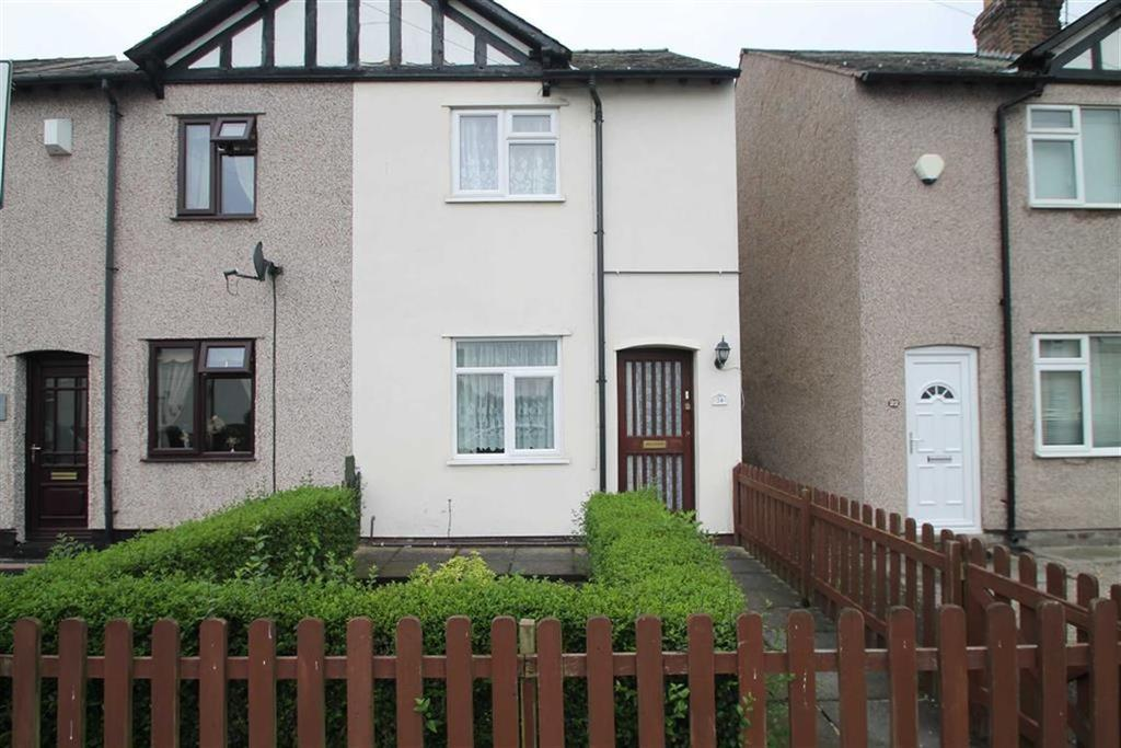 2 Bedrooms Semi Detached House for sale in Victoria Road, Saltney
