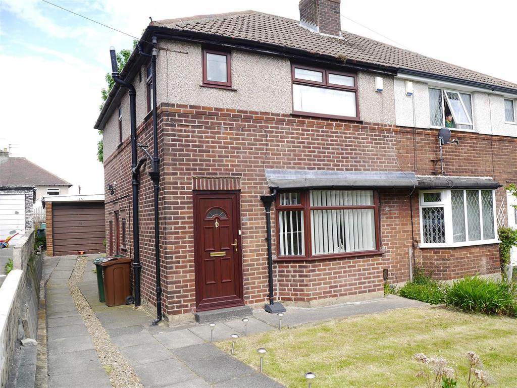 3 Bedrooms Semi Detached House for sale in Ings Way, Fairweather Green, Bradford, BD8 0LU