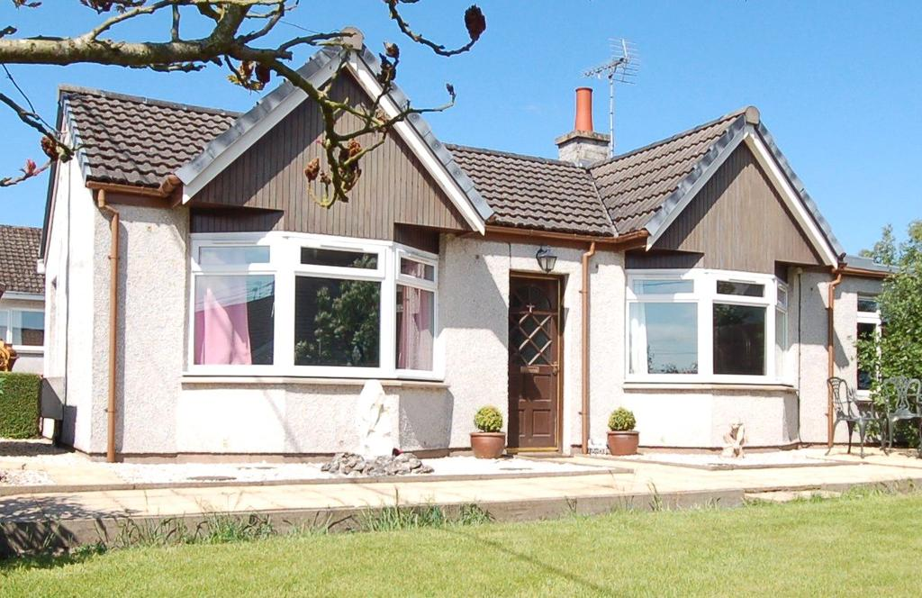 2 Bedrooms Detached Bungalow for sale in Craimar, 27 Main Street, Heiton, Kelso, Scottish Borders, TD5
