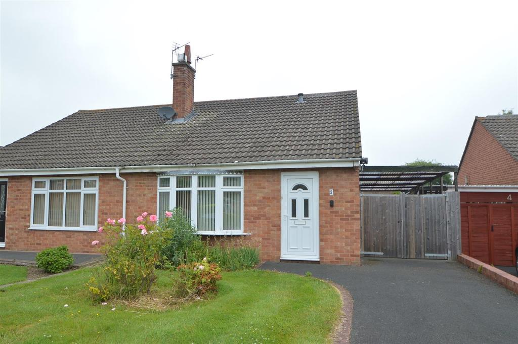2 Bedrooms Semi Detached Bungalow for sale in 3 Wentworth Close, Bayston Hill, Shrewsbury SY3 0PE