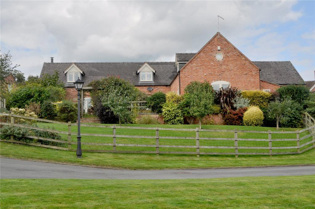 4 Bedrooms Detached House for sale in Marbury Hall Farm Drive, Marbury, Cheshire, SY13