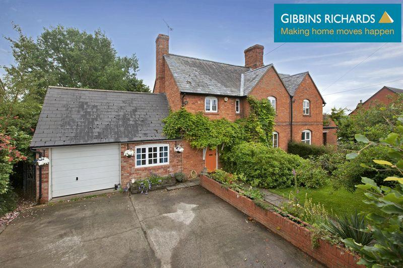 3 Bedrooms Semi Detached House for sale in Frys Cottages, Chedzoy, Nr. Bridgwater