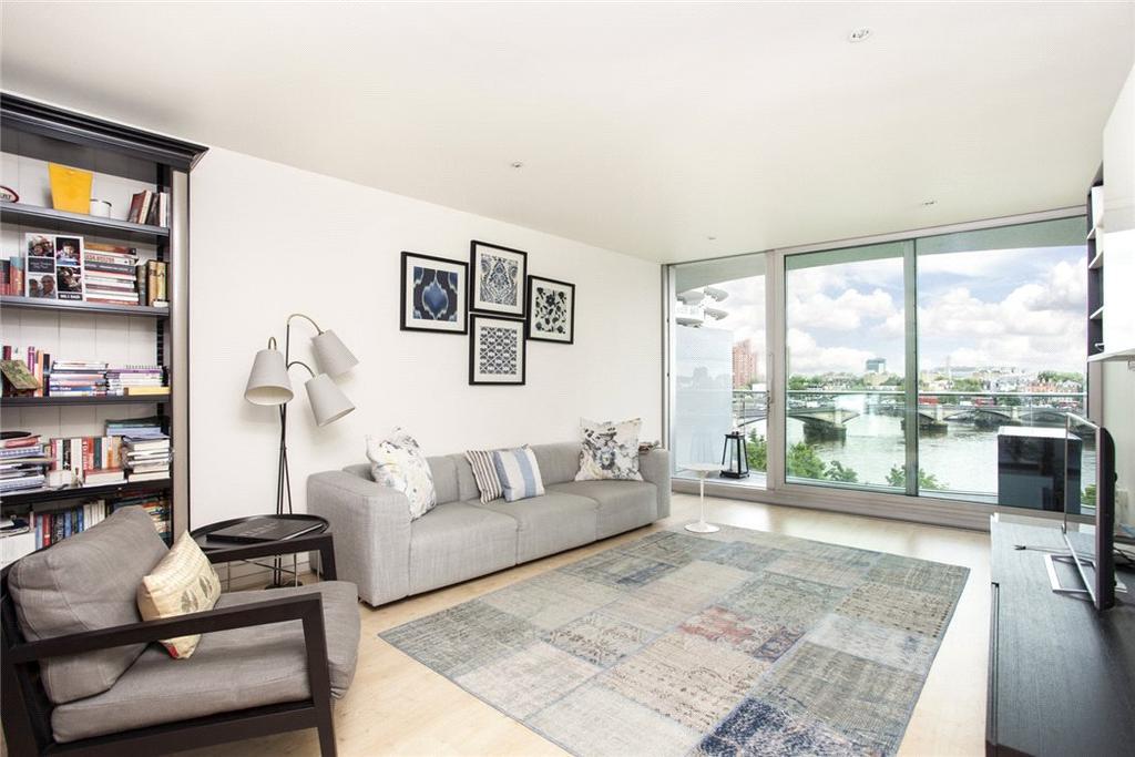 2 Bedrooms Flat for sale in Albion Riverside, 8 Hester Road, Battersea Park, London, SW11