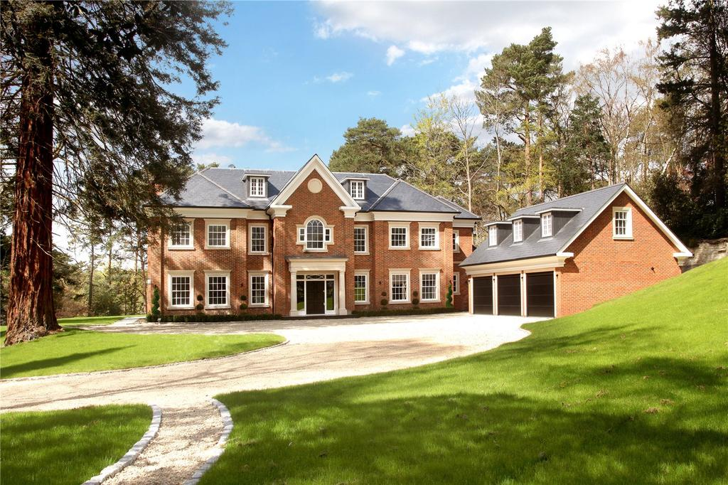 6 Bedrooms Detached House for sale in Westwood Road, Windlesham, Surrey