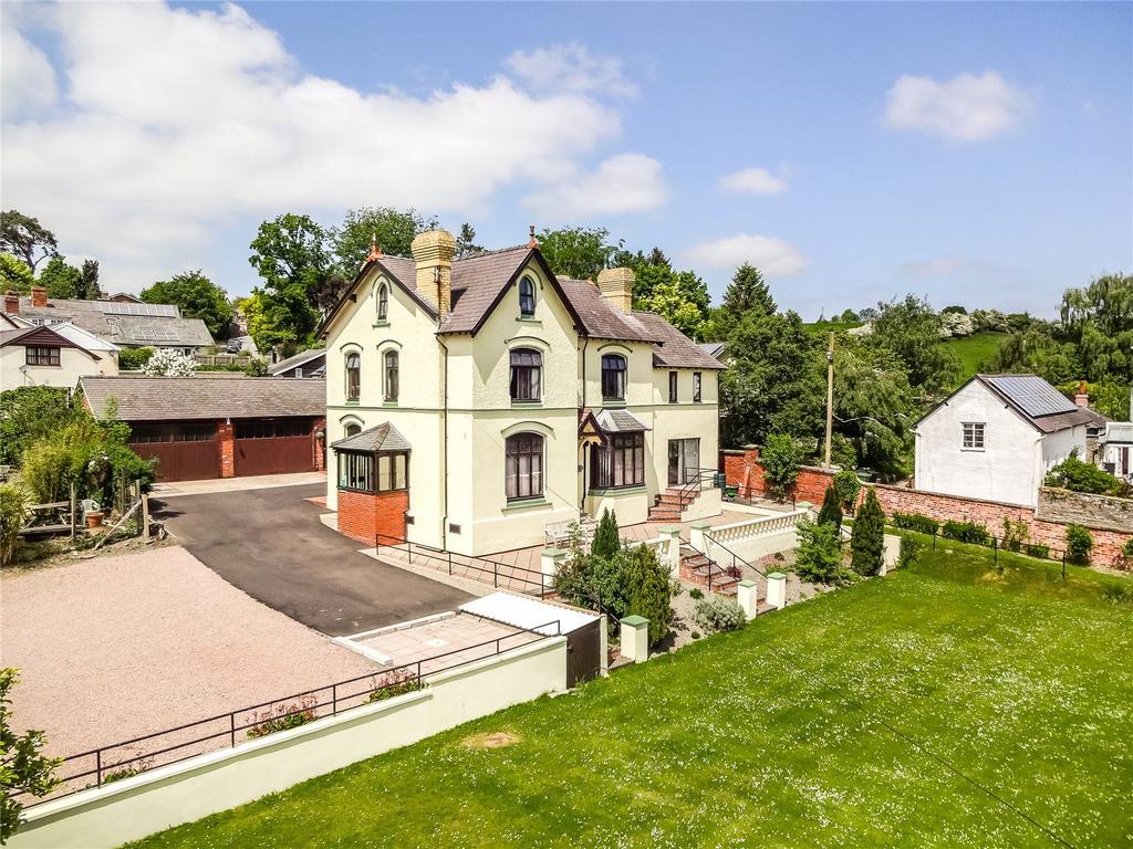5 Bedrooms Detached House for sale in Bull Lane, Bishops Castle, Shropshire