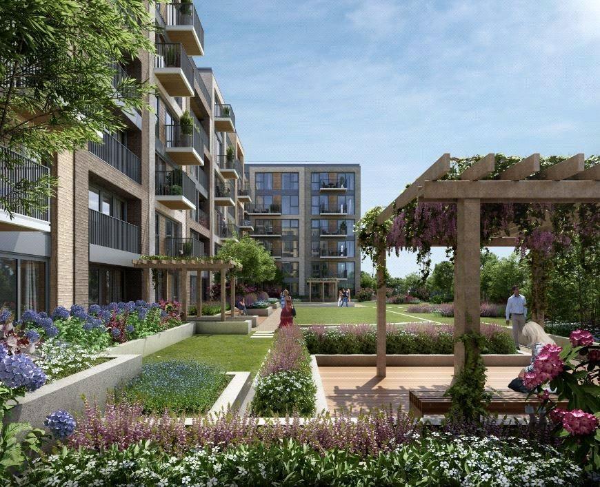 3 Bedrooms Flat for sale in Lockside House, Chelsea Creek, Fulham, London, SW6