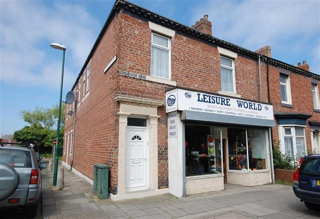 2 Bedrooms End Of Terrace House for sale in Chichester Road, South Shields, South Shields