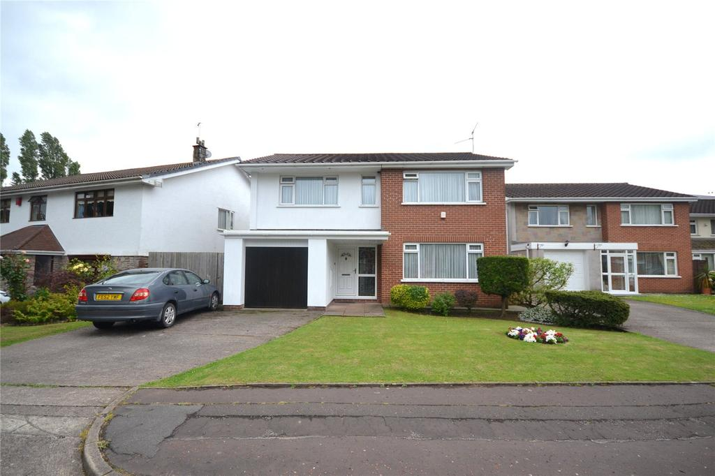 4 Bedrooms Detached House for sale in Melville Avenue, Old St. Mellons, Cardiff, CF3