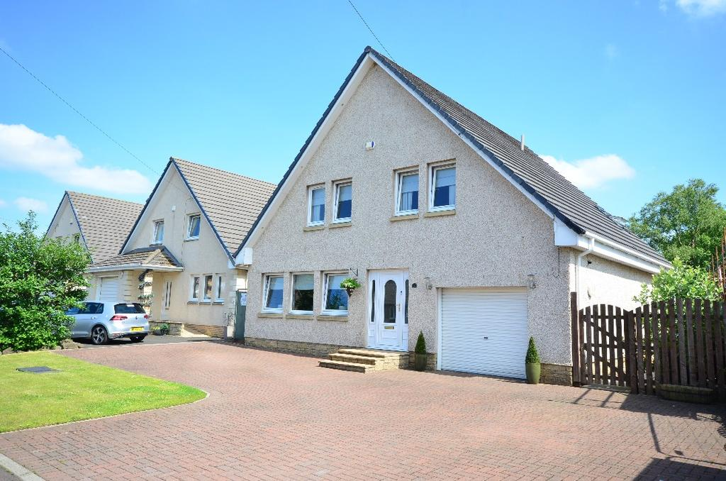 4 Bedrooms Detached House for sale in Gateside View, Lesmahagow, South Lanarkshire, ML11 0QX