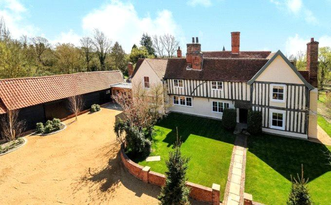 6 Bedrooms Detached House for sale in Willingale Road, Fyfield, Ongar, Essex