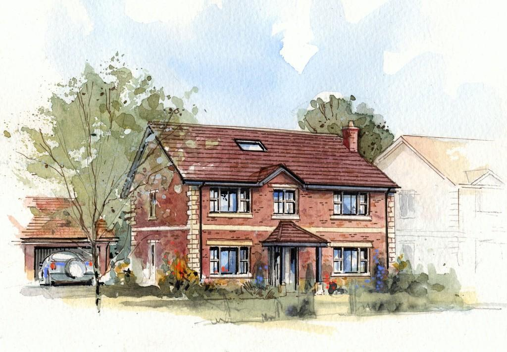 5 Bedrooms Detached House for sale in Chestnut House, Henford Marsh View, Warminster