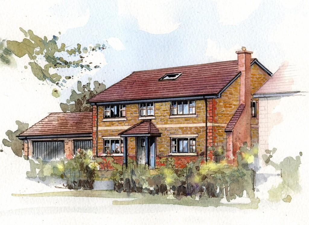 5 Bedrooms Detached House for sale in Willow House, Henford Marsh View, Warminster