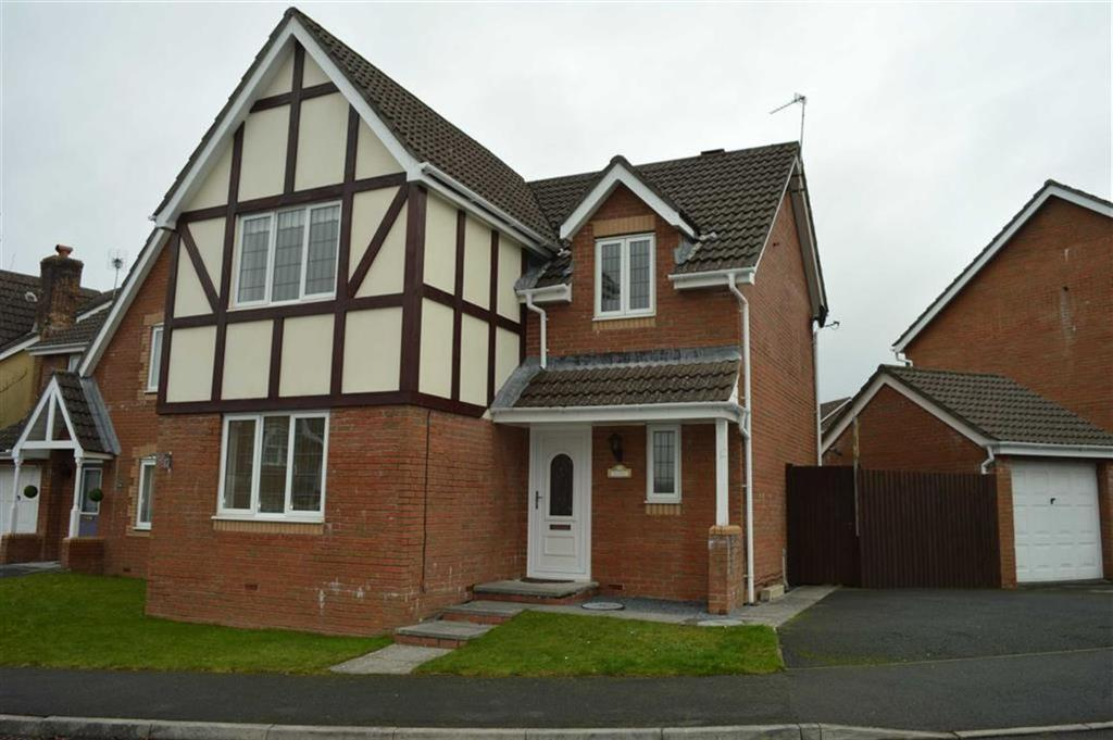 4 Bedrooms Detached House for sale in Cae Castell, Swansea, SA4