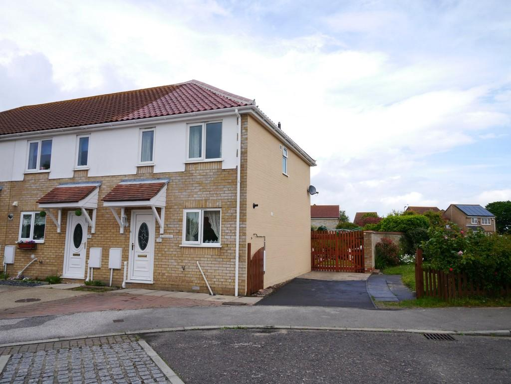 2 Bedrooms End Of Terrace House for sale in Hague Close, Carlton Colville, Lowestoft