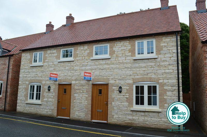3 Bedrooms Semi Detached House for sale in 7 Blacksmiths Yard, Bar Lane WADDINGTON