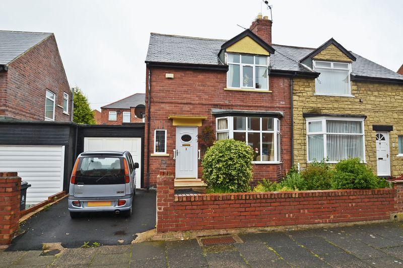 2 Bedrooms Semi Detached House for sale in Berwick Terrace, North Shields