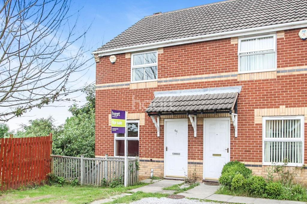 2 Bedrooms Semi Detached House for sale in Horse Shoe Court, Balby