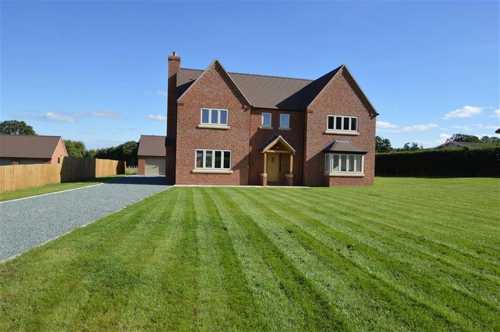 4 Bedrooms Detached House for sale in Poole House, Shrewsbury Road, Hadnall, SY4