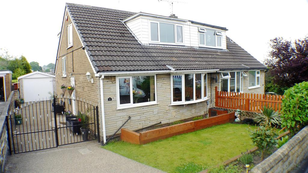 4 Bedrooms Semi Detached House for sale in Markfield Drive, Low Moor, Bradford, BD12 0UN