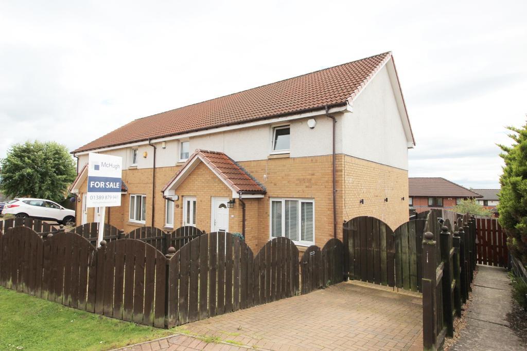 2 Bedrooms Terraced House for sale in 26 Scavaig Crescent, Drumchapel, G15 8AJ