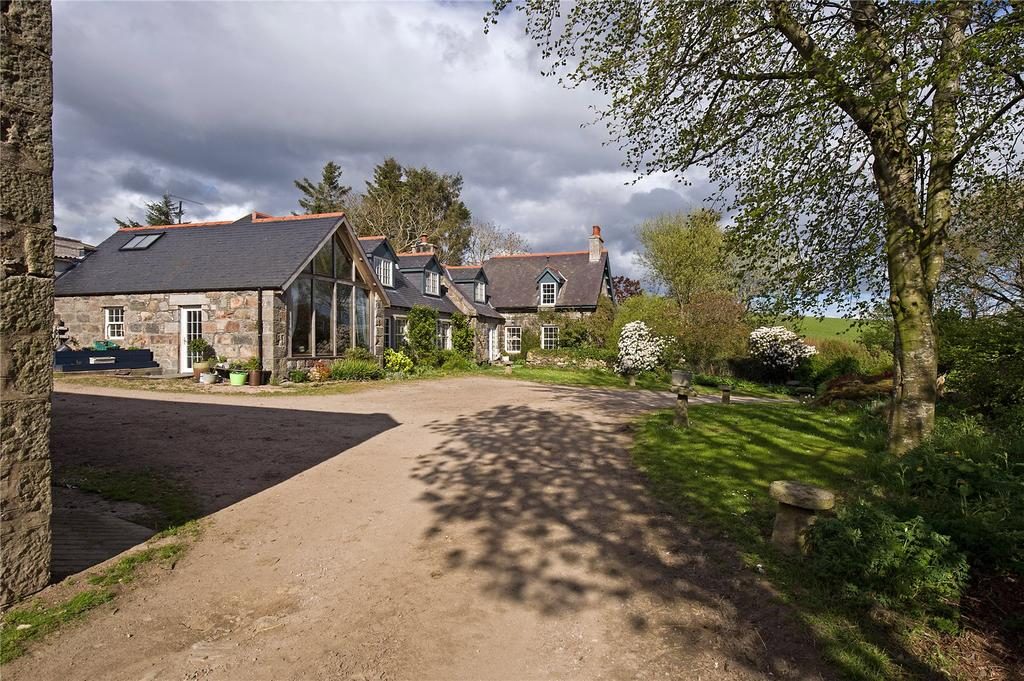 6 Bedrooms Detached House for sale in Whitehills Farm, Monymusk, Inverurie, Aberdeenshire