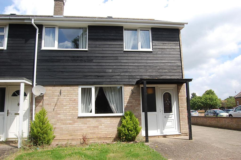 3 Bedrooms End Of Terrace House for sale in Peterhouse Close, Mildenhall