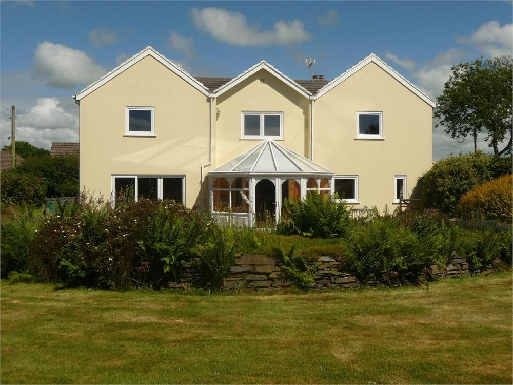 5 Bedrooms Detached House for sale in Green Plain, 185 St David's Road, Letterston, Haverfordwest, Pembrokeshire