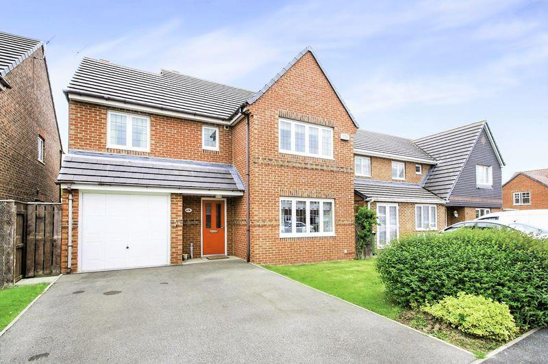 4 Bedrooms Detached House for sale in Meridian Way, Bramley Green, Stockton, TS18 4QH