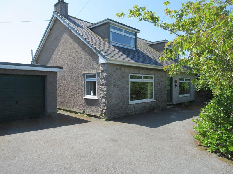 4 Bedrooms Detached Bungalow for sale in Penysarn