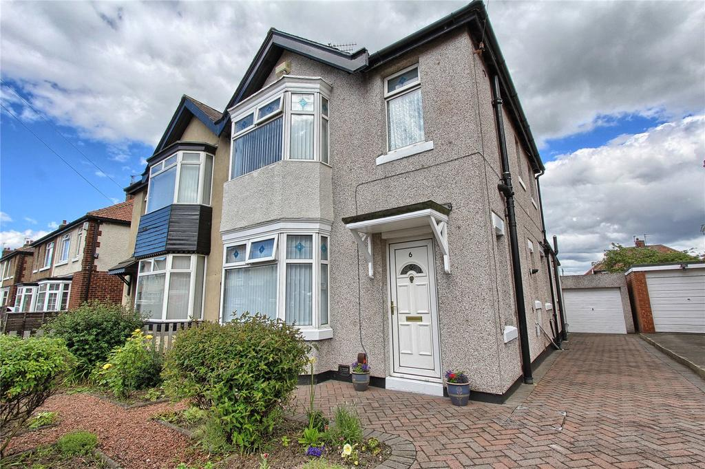 2 Bedrooms Semi Detached House for sale in Cambrian Road, Billingham