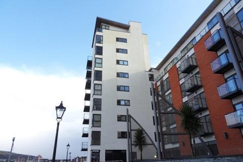 2 bedroom apartment to rent - Meridian Wharf, Trawler Road, Swansea. SA1 1LB