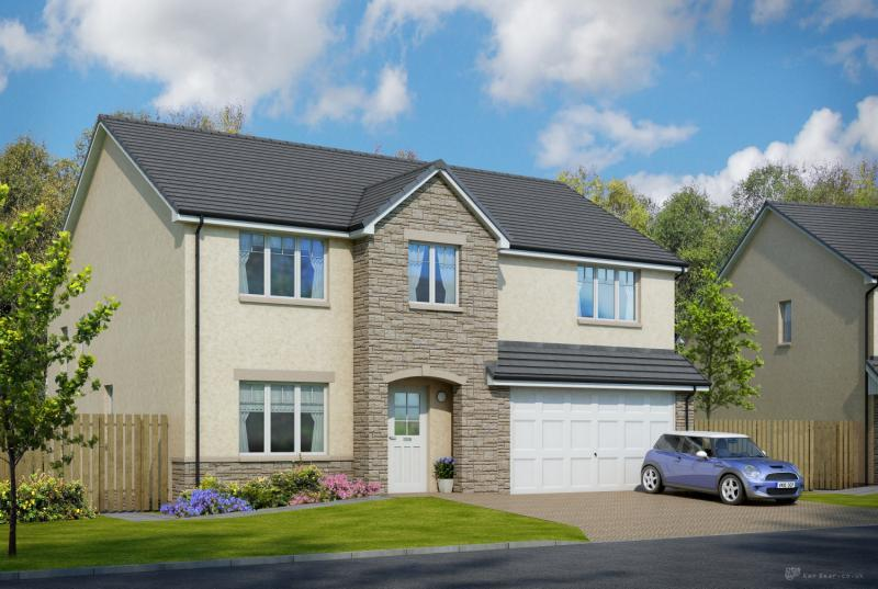 5 Bedrooms Semi Detached House for sale in The Grampian At The Views, Saline, Dunfermline, Fife