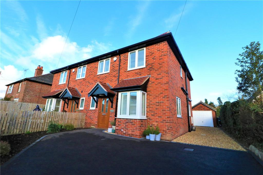 3 Bedrooms Semi Detached House for sale in Manchester Road, Sway, Lymington, Hampshire, SO41