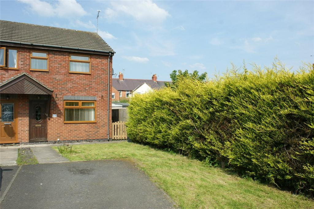 2 Bedrooms End Of Terrace House for sale in Dale Court, New Broughton, Wrexham, LL11