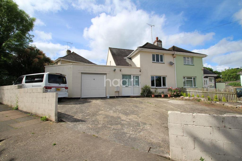 3 Bedrooms Semi Detached House for sale in East Pafford Avenue, Torquay