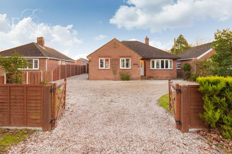 5 Bedrooms Detached Bungalow for sale in Coach Road, Great Horkesley, Colchester