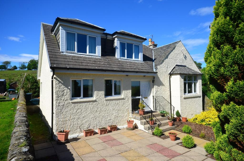 3 Bedrooms Semi Detached House for sale in Red Road, Cardross, Dunbartonshire, G82 5HH