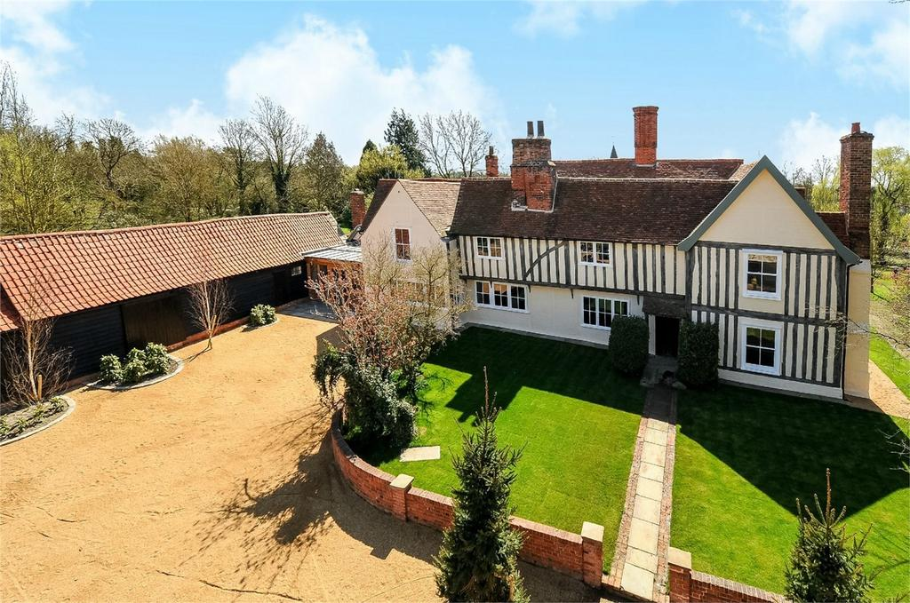6 Bedrooms Detached House for sale in Fyfield Hall, Willingale Road, Fyfield, Ongar, Essex
