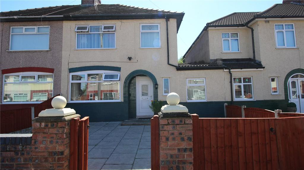4 Bedrooms Semi Detached House for sale in Westcliffe Road, Liverpool, Merseyside, L12