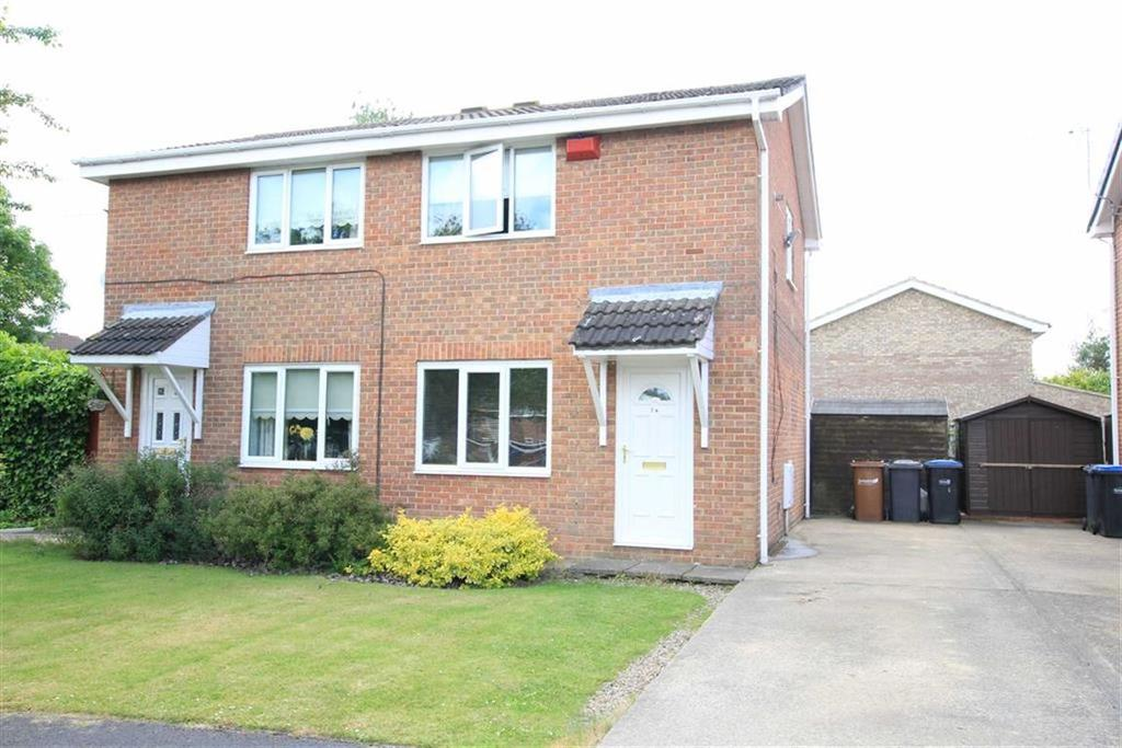 2 Bedrooms Semi Detached House for sale in Pemberton Road, Newton Aycliffe, County Durham