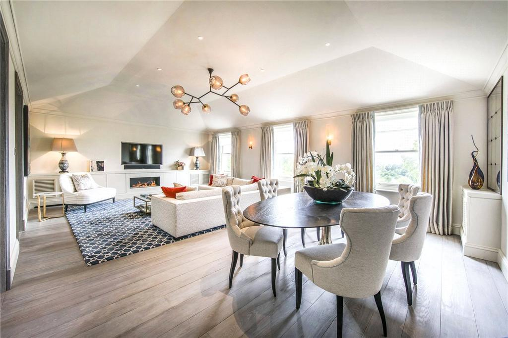 3 Bedrooms Penthouse Flat for sale in Hyde Park Gardens, Connaught Village, London, W2