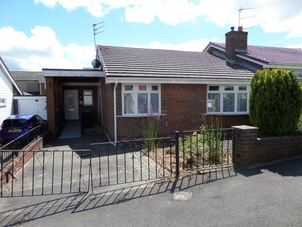 2 Bedrooms Semi Detached Bungalow for sale in ROTHBURY ROAD, NEWTON HALL, DURHAM CITY